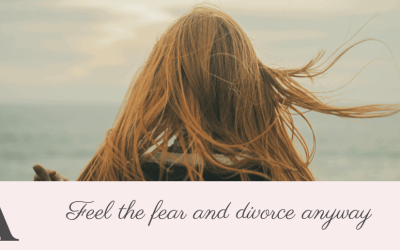 Feel the fear and divorce anyway