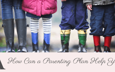 How Can A Parenting Plan Help You?