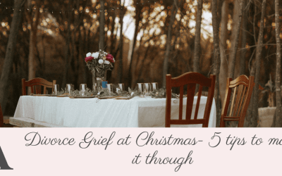 Divorce Grief at Christmas – Five Tips To See You Through