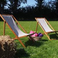 Deckchairs for hire Lincolnshire