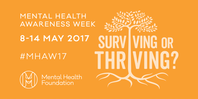 MHAW Surviving or thriving and tips from Emma Lannigan