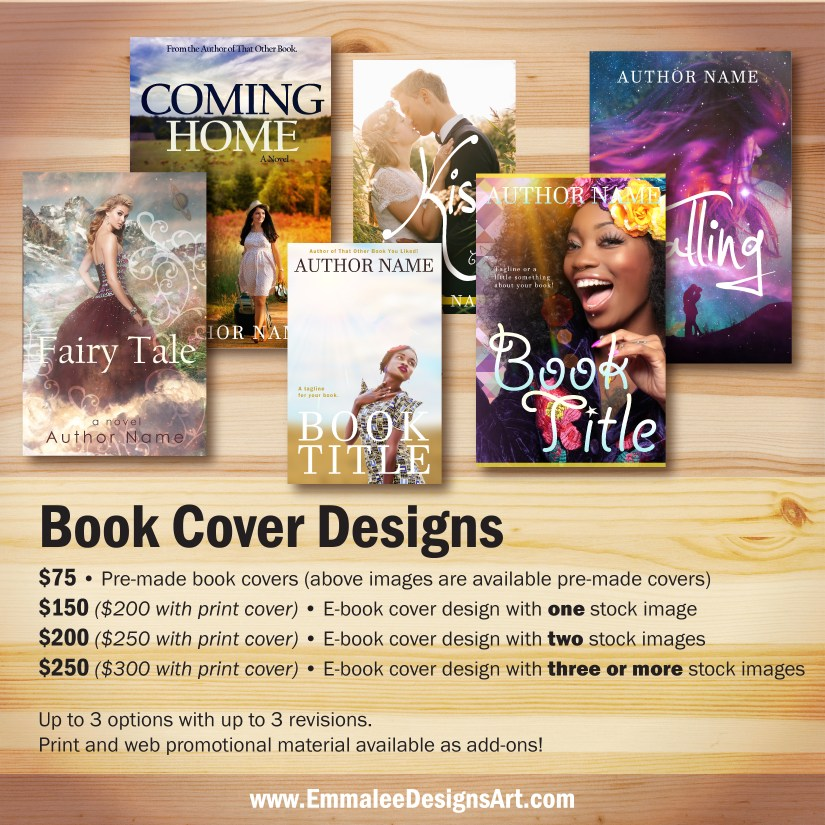 Book Cover Artist Prices : Book covers