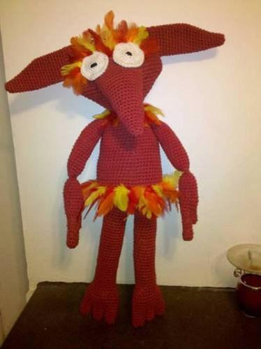 labyrinth crochet patterns - Firey