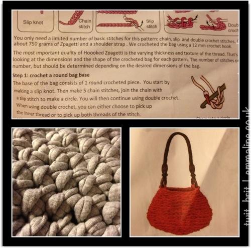 oversized handbag pattern