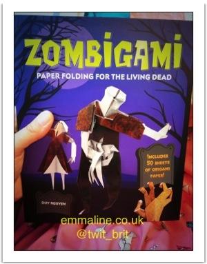 Zombie Origami via emmaline.co.uk