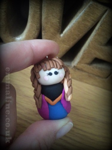 Fimo Anna from Disney's Frozen