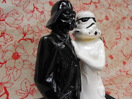 Star Wars handmade cake topper figurine