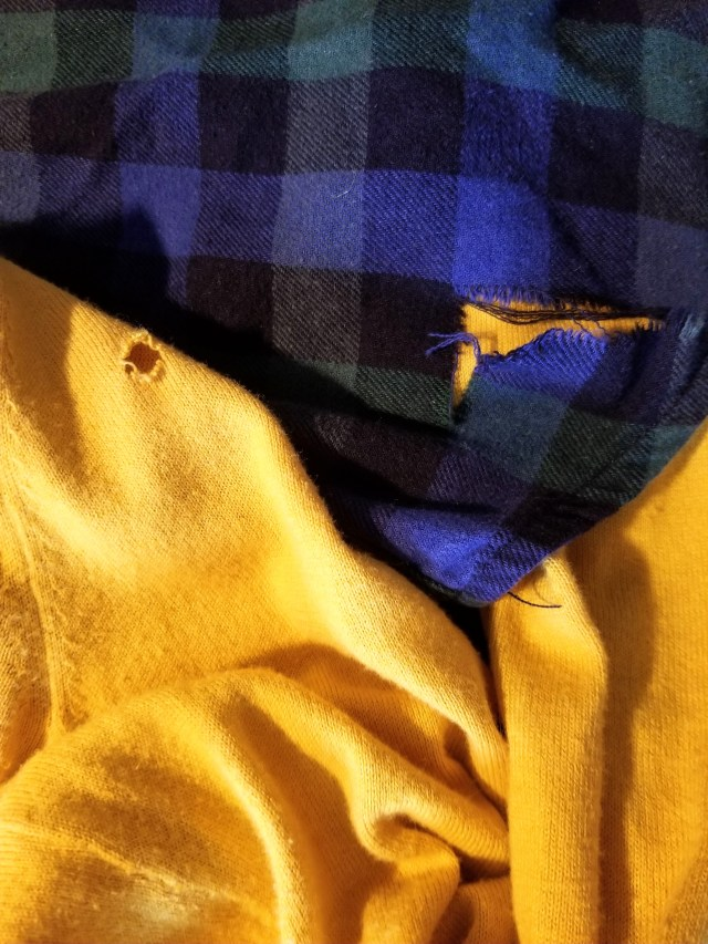 living with less means extending the life of your clothes with simple sewing repairs