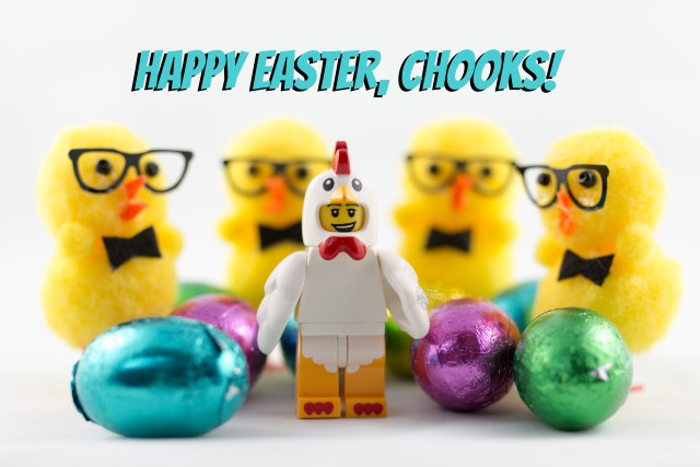 Emma Marie Horn Photography Lego Easter chickens & chocolate eggs