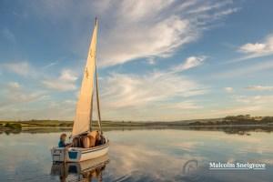 Em sailing with Albert & Ern