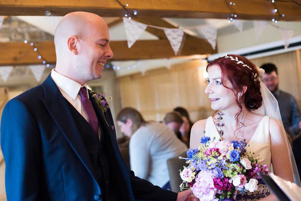 The Red Lion Hotel Burnsall Wedding. Emma Nelson Photography