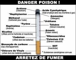danger poison cigarette