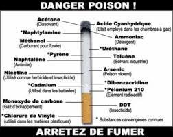 danger poison cigarette