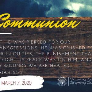 COMMUNION SABBATH