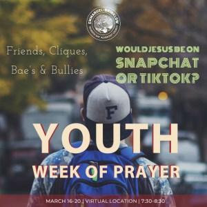 YOUTH WEEK OF PRAYER
