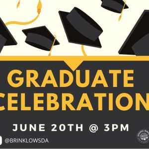 JUNE 20TH : GRADUATE RECOGNITION