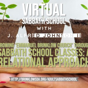 ADULT SABBATH SCHOOL Aug 29