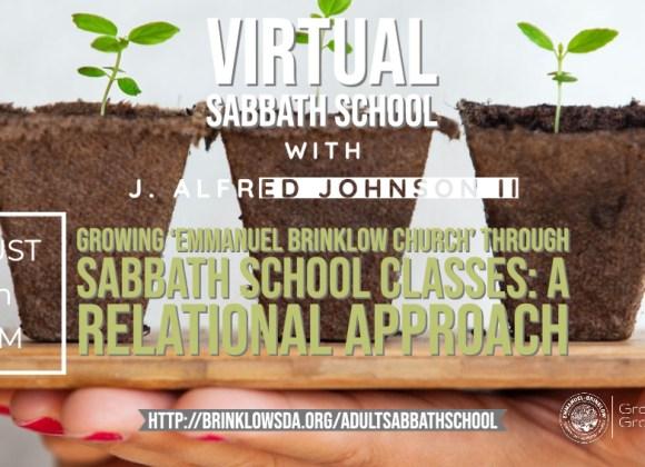 ADULT SABBATH SCHOOL Aug 29