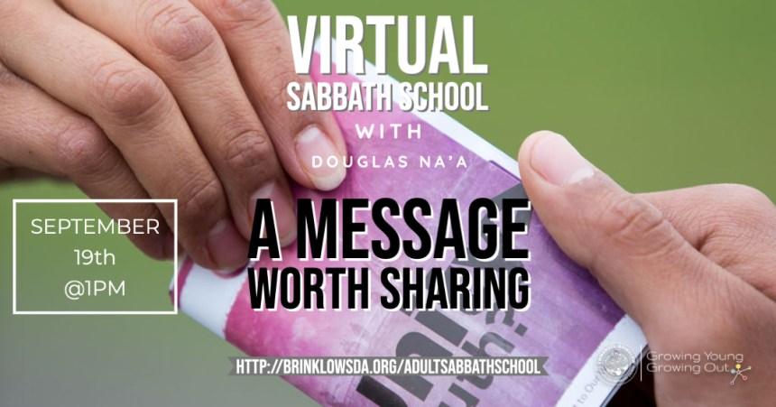 ADULT SABBATH SCHOOL SEPT 19