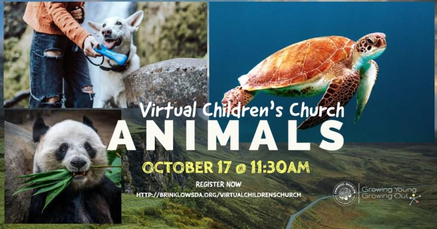 CHILDREN'S CHURCH OCTOBER 17TH