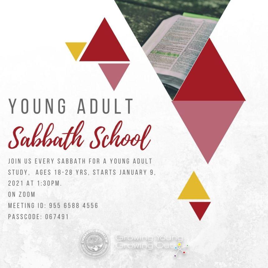 YOUNG ADULT SABBATH SCHOOL