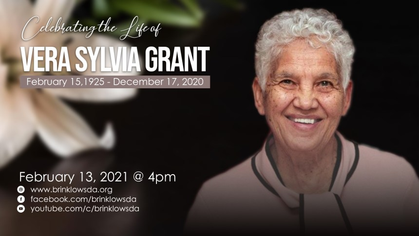 CELEBRATING THE LIFE OF MOMMA GRANT
