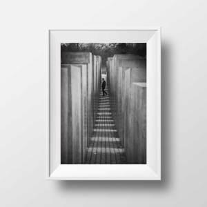 holocaust memorial Image Noir et Blanc