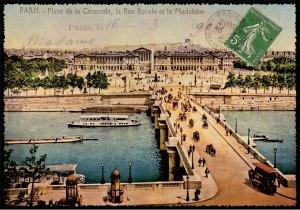 Cartes Postales Paris vintage - Place de la Concorde