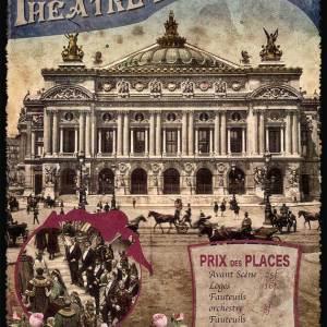 Cartes Postales Paris vintage - Opéra Garnier
