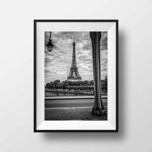 Tirage photo Tour Eiffel Paris – Le Pont de Bir Hakeim