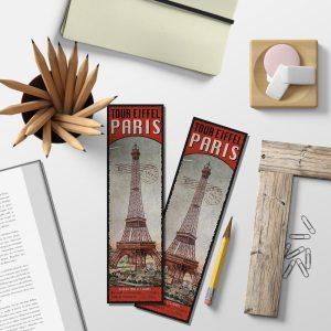 Marque-Pages Paris Vintage – Tour Eiffel Ascension BPOF 019