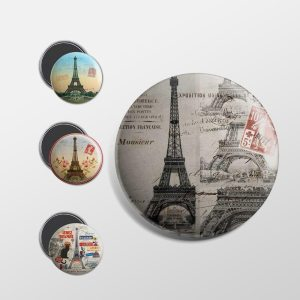 Magnets Paris vintage