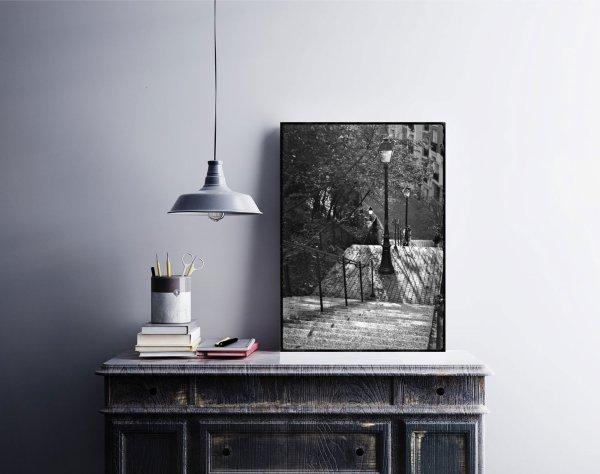Photo de Paris Escaliers Vieux Paris Rue Stendhal 20ème