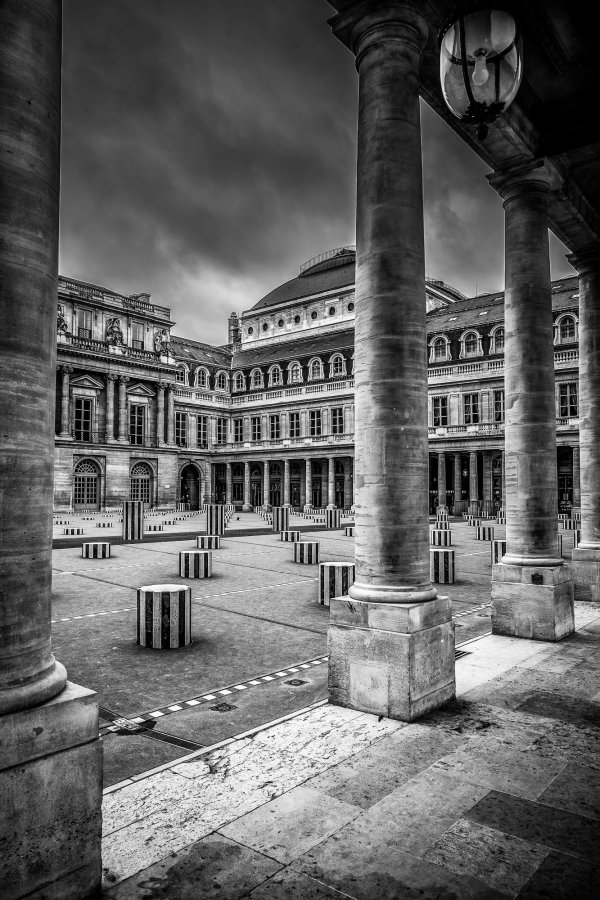 Tirage Photo Jardin du Palais Paris