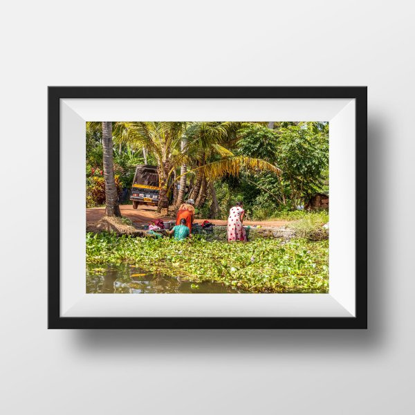 Photo Couleur Kerala Backwaters Alleppey