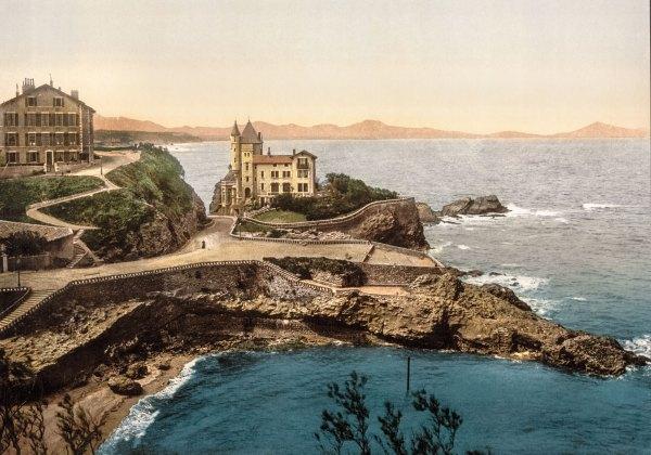 Photo Ancienne Biarritz Villa Belza