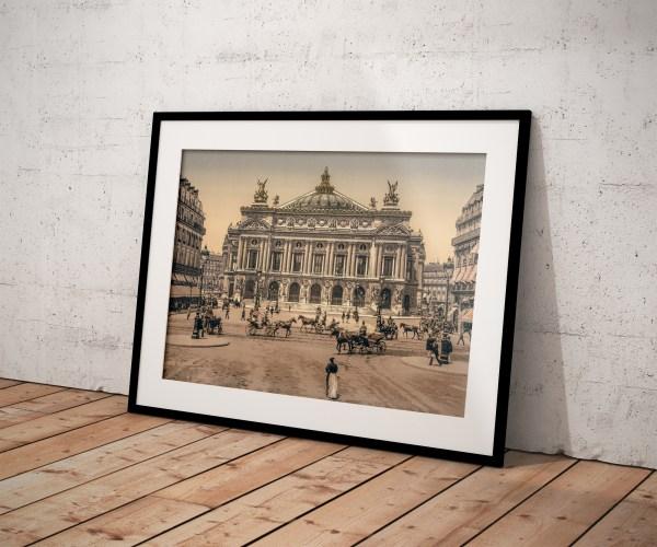 Photo Ancienne Paris Opéra Garnier