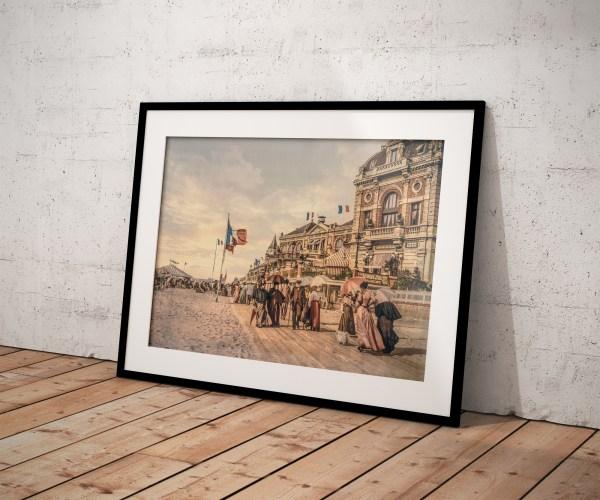 Photo Ancienne Trouville Normandie