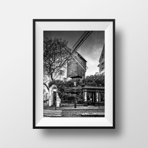 Photo Le Moulin de la Galette Paris Montmartre
