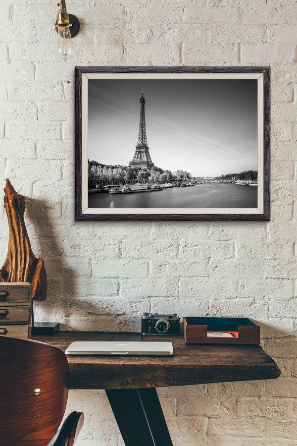 Tirage Photo Paris La Tour Eiffel - Pont d'Iéna