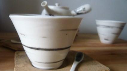 Bols à thé porcelaine