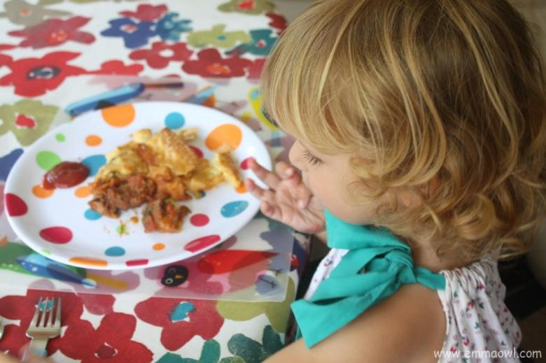 Making Pie Together, the perfect edible sensory play activity!