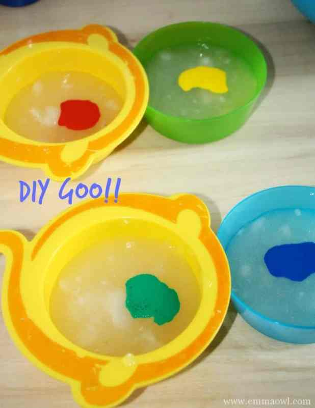 DIY Goo. Easy to make. Fun to play with