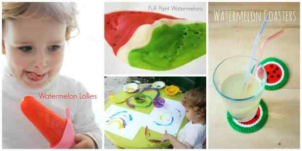 Watermelon Ideas for children and family