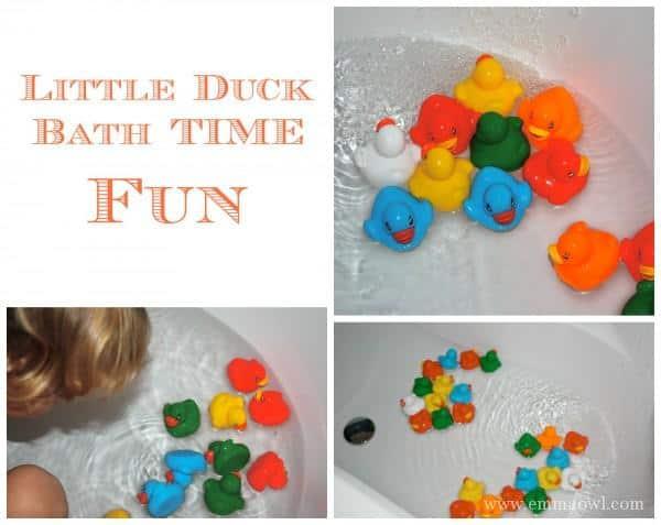 Little Duck Bath Time Fun