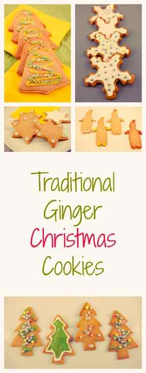 Traditional Ginger Christmas Cookies - just like your granny made them! Full recipe plus decorating ideas!