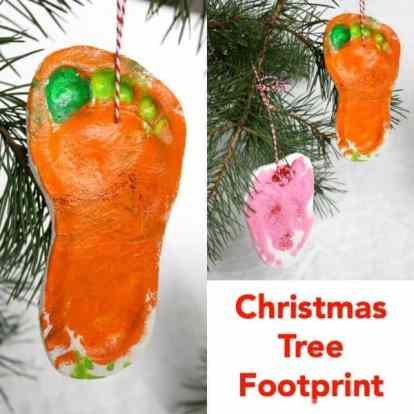 Christmas Tree Footprint