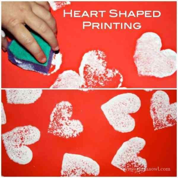 Heart Shaped Printing