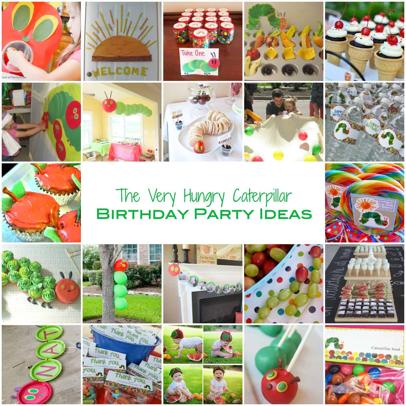 Have A Hungry Caterpillar Party!