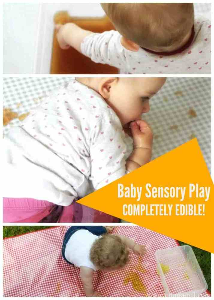 Baby Sensory Play. This completely edible Jelly Activity will amuse any tiny tot!